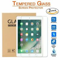 2 PCS Tempered Glass Screen Protector for iPad Pro 9.7 6th Generation iPad 6 7