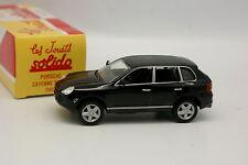 Solido Hachette 1/43 - Porsche Cayenne Turbo Noire