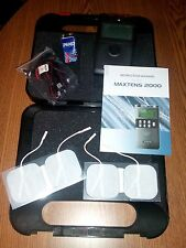 TENS Unit DIGITAL Relief System for Back, Neck, Knee Electrodes Included New OTC