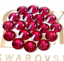FUSCHIA 144 Swarovski Crystal Rhinestones Flatback ss20, 20ss #2058