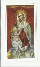 HOLY CARD SANTINO MADONNA DELLE GRAZIE ABBAZIA CHIARAVALLE DELLA COLOMBA ALSENO