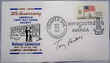 Tony Randall - Actor - Signed - Autographed Commemorative Cover - NM