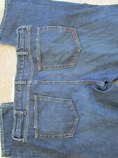 ROCAWEAR JEANS MENS 34 WIDER LEG, COLORED STITCHING  FREE SHIP!