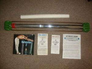 Vintage BULLWORKER 2 With All Instruction Booklet Wall chart excerciser