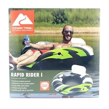 """New listing Ozark Trail Rapid Rider 1 River Tube Inflatable Water Float Pool 48"""" Adult"""
