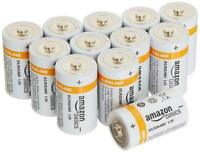 D Cell Everyday Batteries Alkaline (12-Pack)