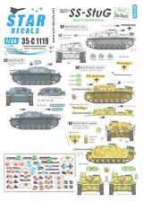 Star Decals 1/35 WAFFEN SS STURMGESCHUTZ III Ausf.A & Ausf.B Part 3 DAS REICH