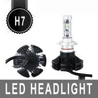 Pair H7 100W 12000LM LED Car Headlights Kits Beam Bulbs Turbo 6500K New Arrivel