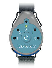 Reliefband Re-useable Stop Motion Sickness FAST Includes Band Batteries & Gel 7