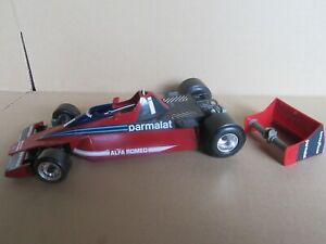Burago 2103 Italie Brabham Parmalat Alfa Romeo BT46 F1 GP Suède Lauda 1978 1:14