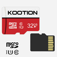 Red 32GB Micro SD TF Card SDHC Memory Card Class 10 UHS-I For Cameras Phone