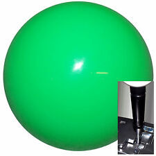 Neon Green shift knob for Dodge Chrys Jeep auto stick w/ Blk Adapter