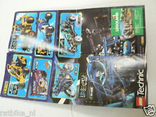LEGO BROCHURE FLYER CATALOG TOYS TECHNIC 1998 DUTCH 2 PAGES 129 COMPETITION