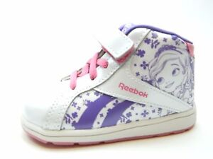 REEBOK INFANTS SOFIA WHITE ORCHID PINK GIRLS SHOES SIZE 7.5 TODDLER