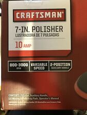 Craftsman 7 Inch 10 Amp Buffer / Polisher