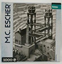 """M.C. Escher """"Waterfall"""" Jigsaw Puzzle, Poster, 1000 Piece,  26.75""""x19.75"""""""