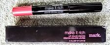 Avon MARK. MAKE IT RICH LIP COLOR CRAYON: PUNCH NEW IN BOX!