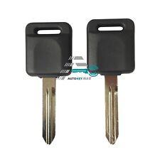 2Uncut Replacement Chip Transponder Ignition Key For 1999-2004 Nissan Pathfinder
