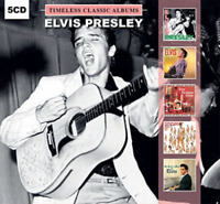 ELVIS PRESLEY Timeless 5 Classic Albums Gift set CD NEW Christmas Album inc.