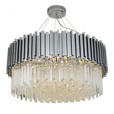 Modern Crystal Chandelier Lighting Fixture Luxury Contemporary gold Chandeliers