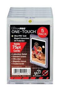 Ultra PRO 75PT UV ONE-TOUCH Magnetic Holder (Pack of 5)