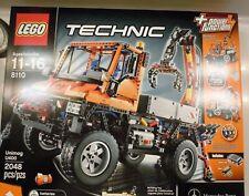 "LEGO TECHNIC 8110 MERCEDES BENZ UNIMOG U400 /""NEW ORIGINAL STICKER SHEETS ONLY/"""
