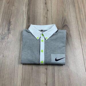 Nike Golf Dri Fit Sport Polo Shirt Mens Casual Size L Large