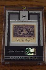 2005 Donruss Signature Series Stamps BILL TERRY New York Giants HOF Auto 1/1