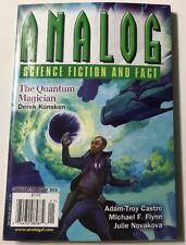 Analog Science Fiction Quantum Magician January/February 2018 FREE SHIPPING JB