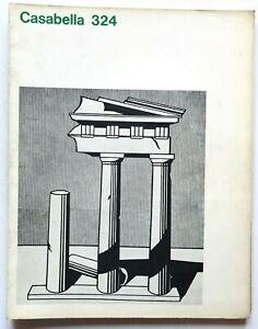 Casabella n. 324 marzo 1968 Rivista Architettura Bernasconi Roy Lichtenstein