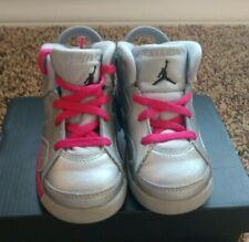 Nike Air Jordan 6 Retro TD 'Valentines Day' Toddler Shoes Size 7c