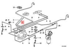 Genuine BMW 114 CMSP E12 E21 E23 E24 E26 Clutch Control Hose OEM 21521163714