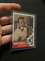 Mickey Mantle 2007 Topps Card MMS22 New York Yankees Babe Ruth Collector NR