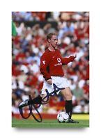 Nicky Butt Signed 6x4 Photo Manchester United Genuine Autograph Memorabilia +COA
