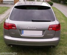 AUDI Allroad A6 C6 4F 04-12 REAR ROOF SPOILER WING Cover trim ABT S6 RS6 door S