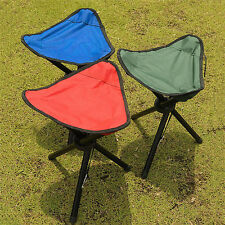 Ultralight Portable Folding Tripod Stool Outdoor Camping Pinic Fishing Chairs
