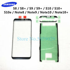 For Samsung Galaxy S8 S9 S10 Plus Note 8 9 10+ Plus S10e LCD display outer touch