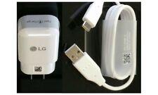 CARICABATTERIA ORIGINALE RAPIDO PER LG G3 G4 FAST CHARGE+CAVO MICRO USB 5V 1,8A