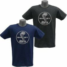 Shelby Cobra Logo Habor Blue T-Shirt
