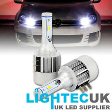 2x LIGHTEC SUPER CANBUS VW GOLF MK6 MK7 H15 CANBUS LED DRL HIGH BEAM WHITE BULBS