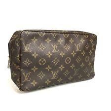 Louis Vuitton monogram true strike wallet 28 M47522 Used 1341-10N11