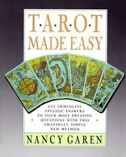 TAROT MADE EASY - NANCY GAREN (PAPERBACK) NEW