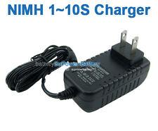 NIMH 2.4V 3.6V 4.8V 6V 7.2V 8.4V 9.6V 10.8V 12V NI-MH Battery Pack Charger DC