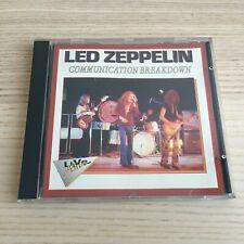 Led Zeppelin - Communication Breakdown - CD Album Live - 1993 Live & Alive Italy