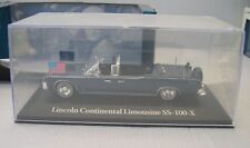 NOREV 1/43 : LINCOLN CONTINENTAL LIMOUSINE SS-100-X assassinat Kennedy  ATLAS