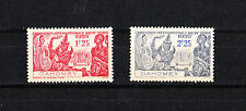paire  timbres  exposition de New York  1939  Dahomey  neuf num: 113/14  **