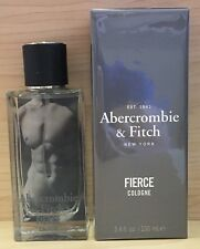 Abercrombie & Fitch Fierce  Cologne 3.4oz / 100ml Brand New Sealed