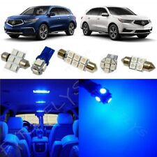 14x Blue Interior LED Lights Package Kit for 2014-2017 Acura MDX +Tool AM3B
