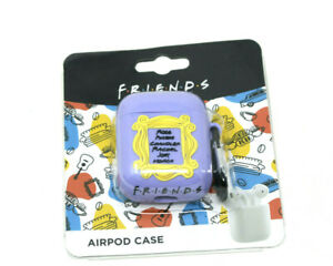 """Friends"" *Warner Bros) True Wireless Earbud Case Cover Gen 1 & 2 Airpods-NIB"