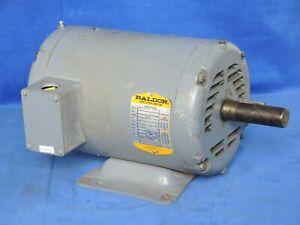 Baldor M3218T AC Motor, 5 hp, 3-phase, 208-230/460 V, 60 hz